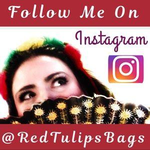 Let's be InstaFriends! @RedTulipsBags